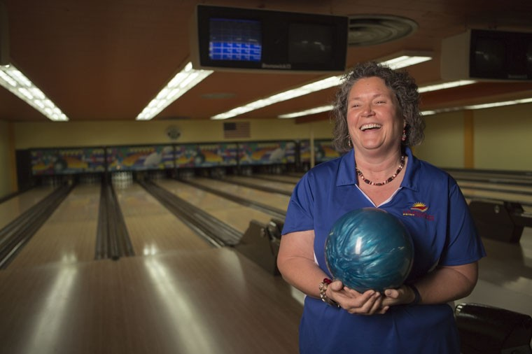 Laura Keefe, a 20-year employee of State Bank of Southern Utah, has been bowling almost her entire life.